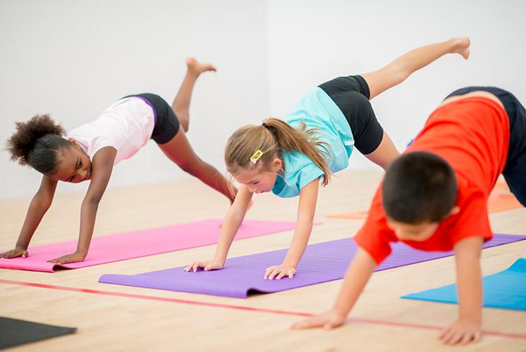 Kids Yoga Basil Yoga